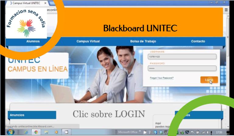 Conoce El Blackboard UNITEC