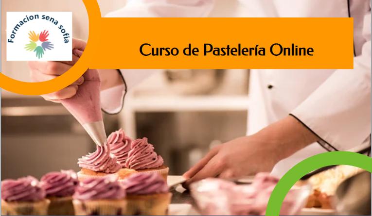 Inscríbete En El Curso De Pastelería Online